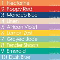 Pantone Spring 2013 Fashion Color Report