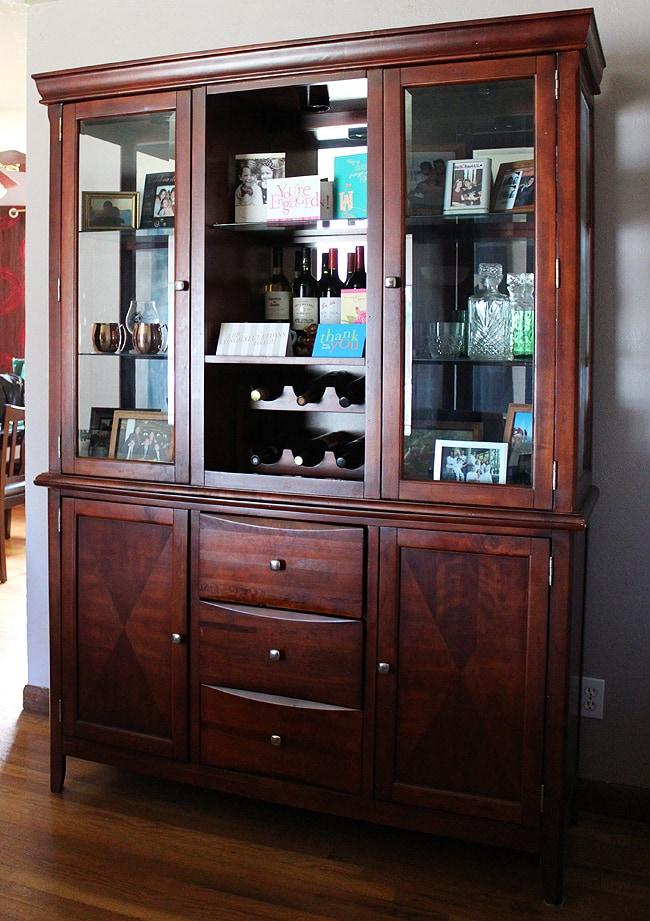 Living Room Updates Modern Martha - living room hutch