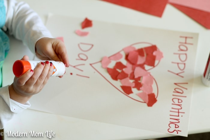 How To Make A Preschool Valentine39s Day Placemat Modern