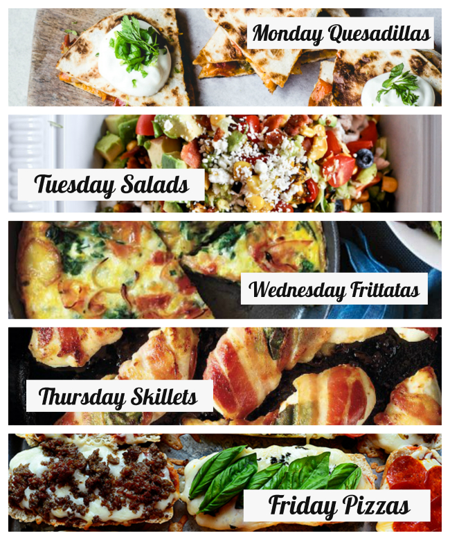 30 Minute Dinners- A Weekly Meal Plan For Busy Families - Modern