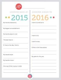 Dorable Resolution Worksheet Kids Free New Years Newyears ...