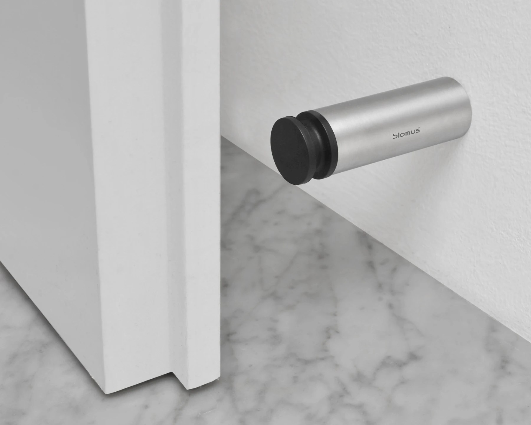 Large Door Stop Blomus Entra Door Stop Wall Mounted Modern Planet
