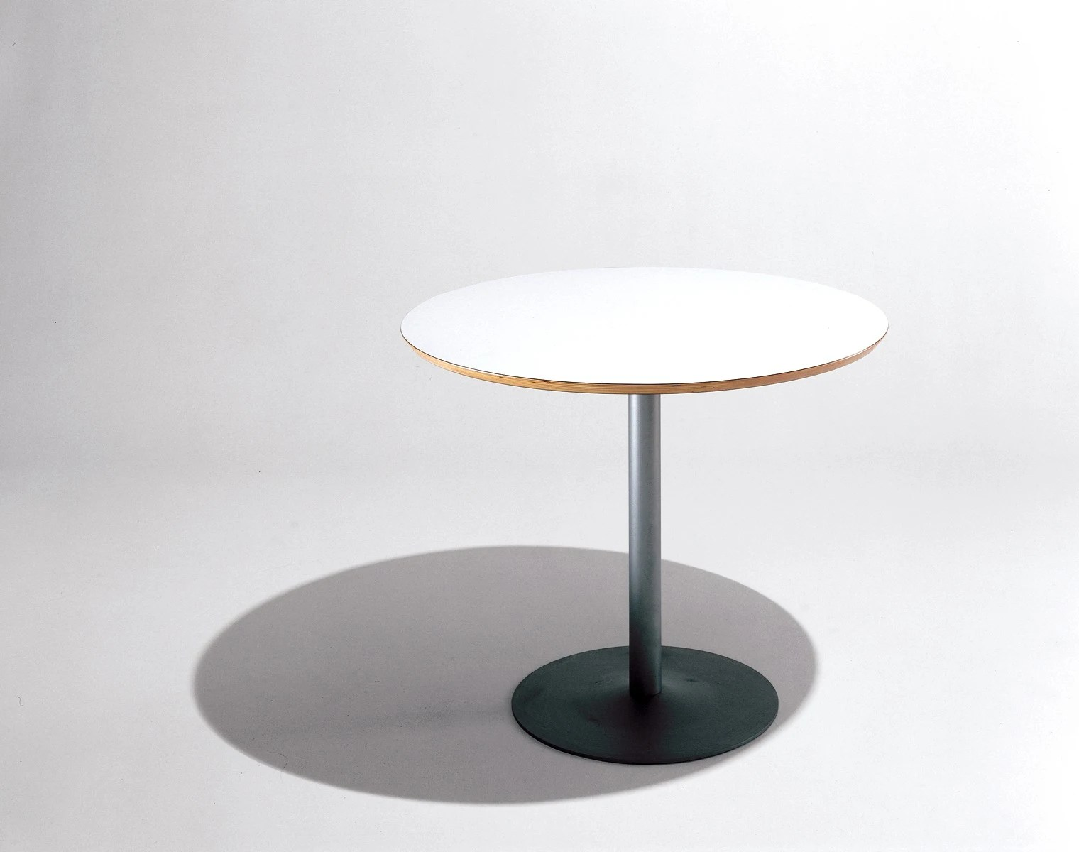 Knoll Table Knoll Piiroinen Arena Bar Height Round Cafe Table