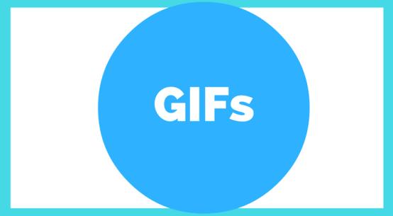 GIF text