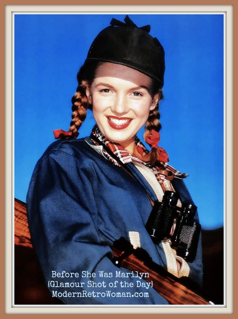 {Glamour Shot of the Day} Before She Was Marilyn, She Was Norma Jeane