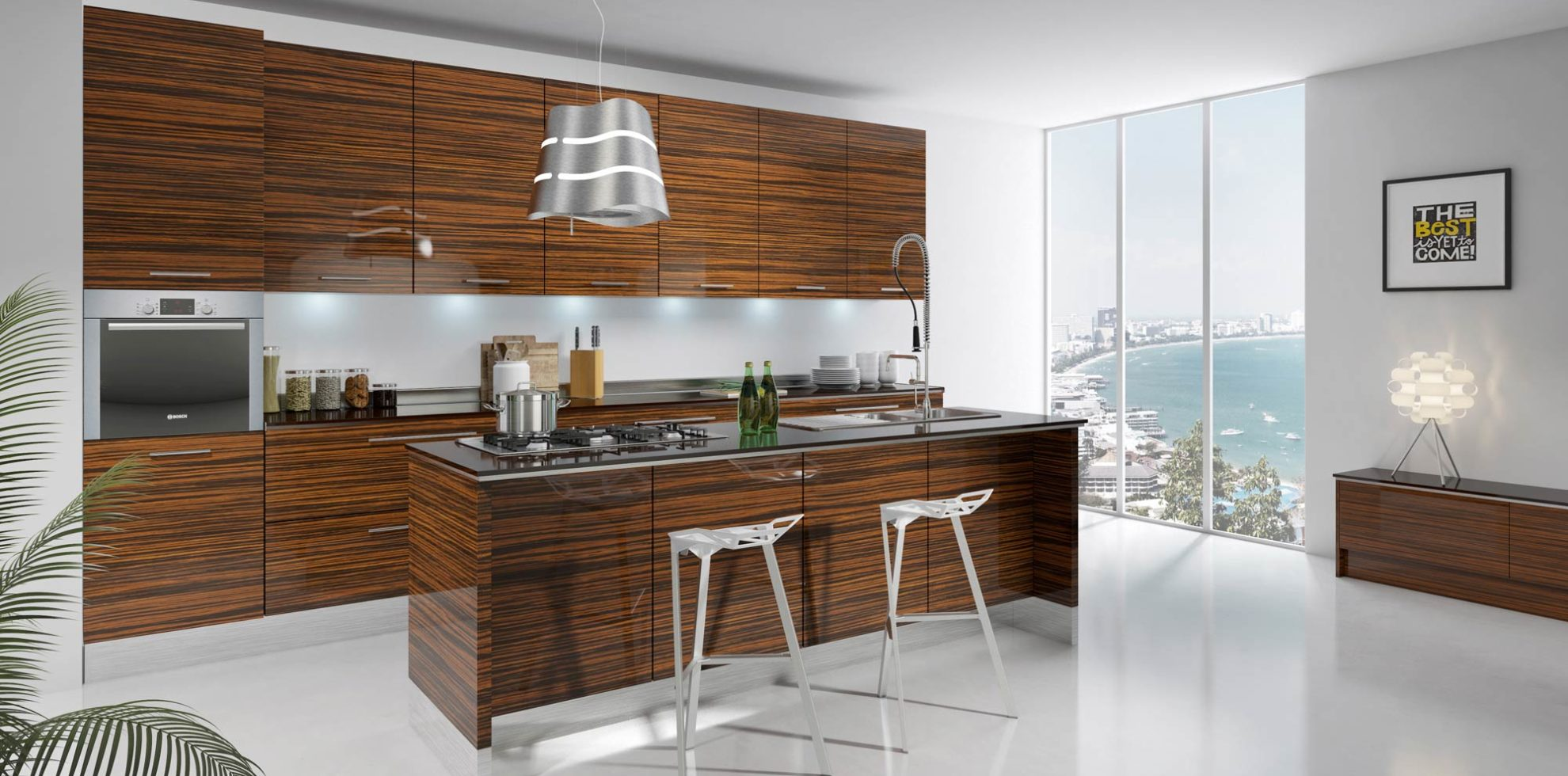Modern Kitchen Design With Price Modern Kitchen Cabinets Free Shipping 3d Renderings