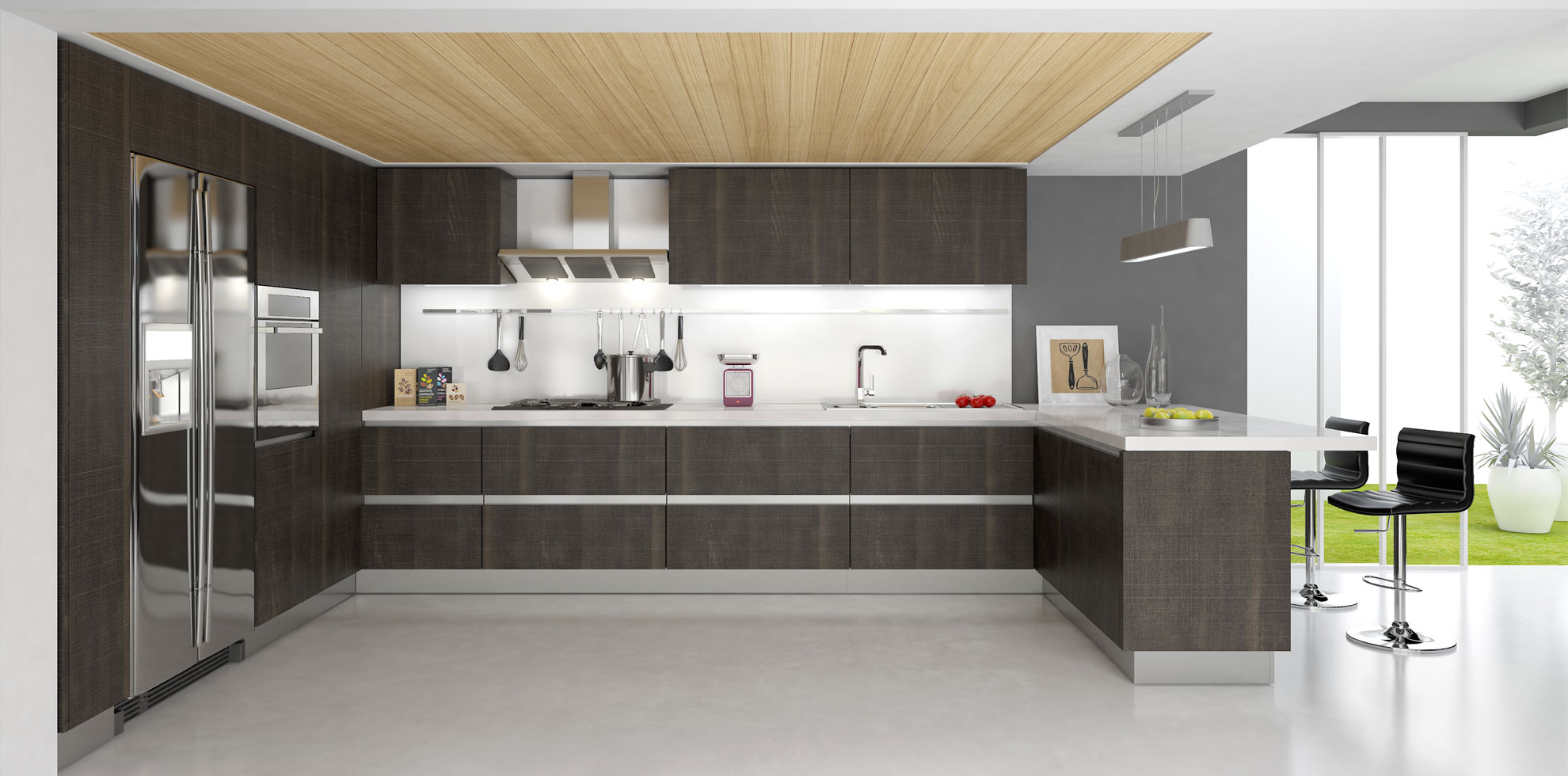 modern kitchen cabinets rta kitchen cabinets Rock RTA Modern Kitchen Cabinets