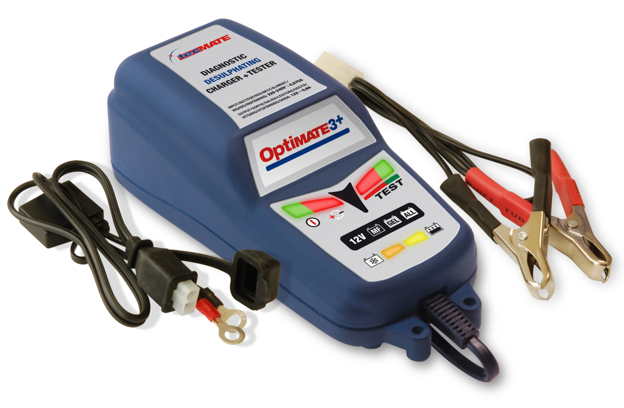 Druppellader Motor Optimate 3 43 Intelligent Battery Charger Modern Scooters