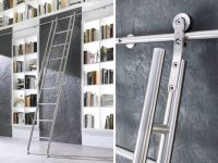 Library Ladders  Modern Stainless Ladders  The World's ...
