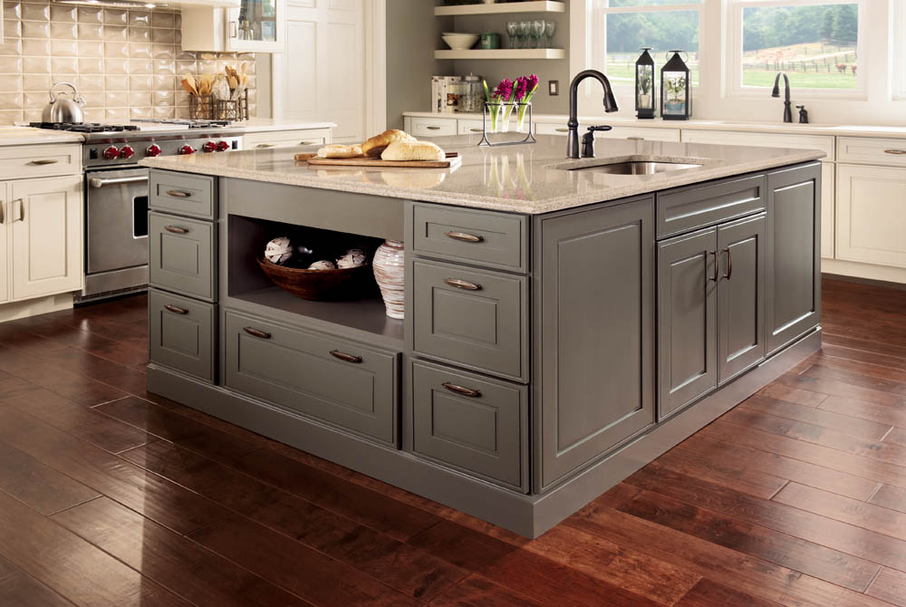 Kraftmaid Kitchen Island With Seating Kitchen And Bath Blab | Modern Supply's Kitchen, Bath