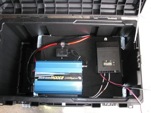 Homemade Portable Solar Generator