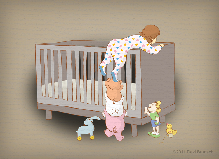 Child Toddler What To Expect When Moving From A Crib To A Toddler Bed