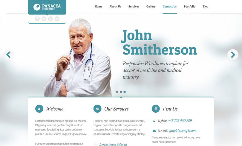 31 Best Health And Medical WordPress Themes Of 2018 - Modern WP Themes - doctor office website template