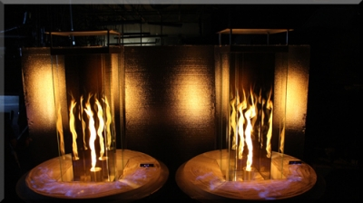 Indoor Fire Pits With Fire Glass Clean Burning Indoor Fire Pits With Crushed Tempered Glass