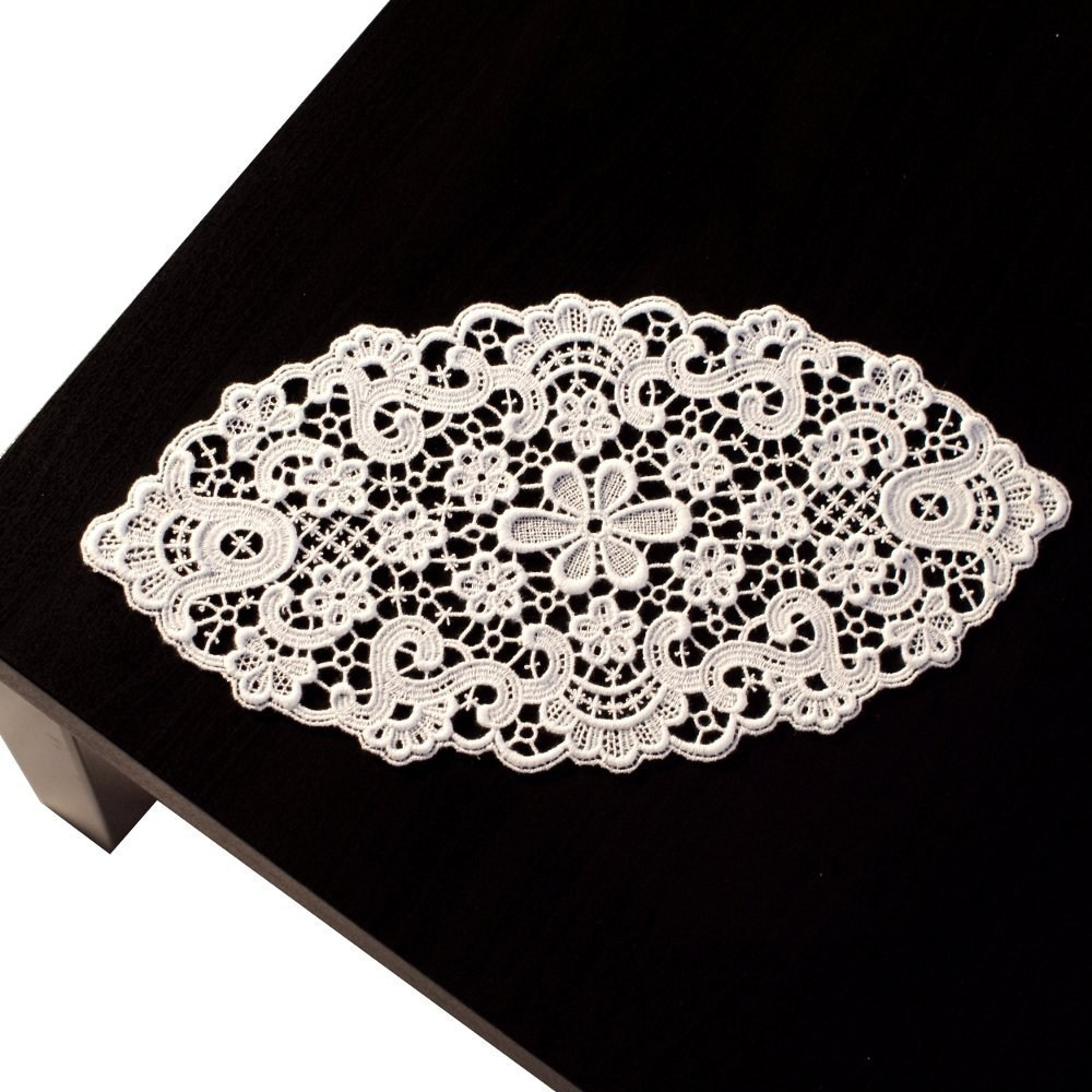 Tischdecke Baumwolle Oval | Tischdecken Unifarben Tischdeckenshop24