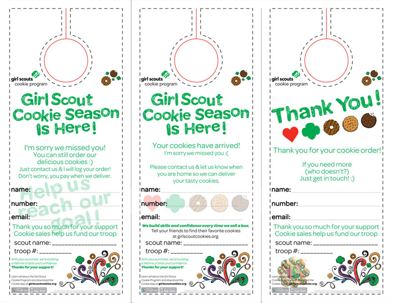 Free Girl Scout Cookie Printable \u2013 Updated 2019! \u2013 Modified Motherhood