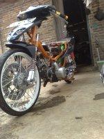 Motor Drag Supra Modifikasi Honda Supra