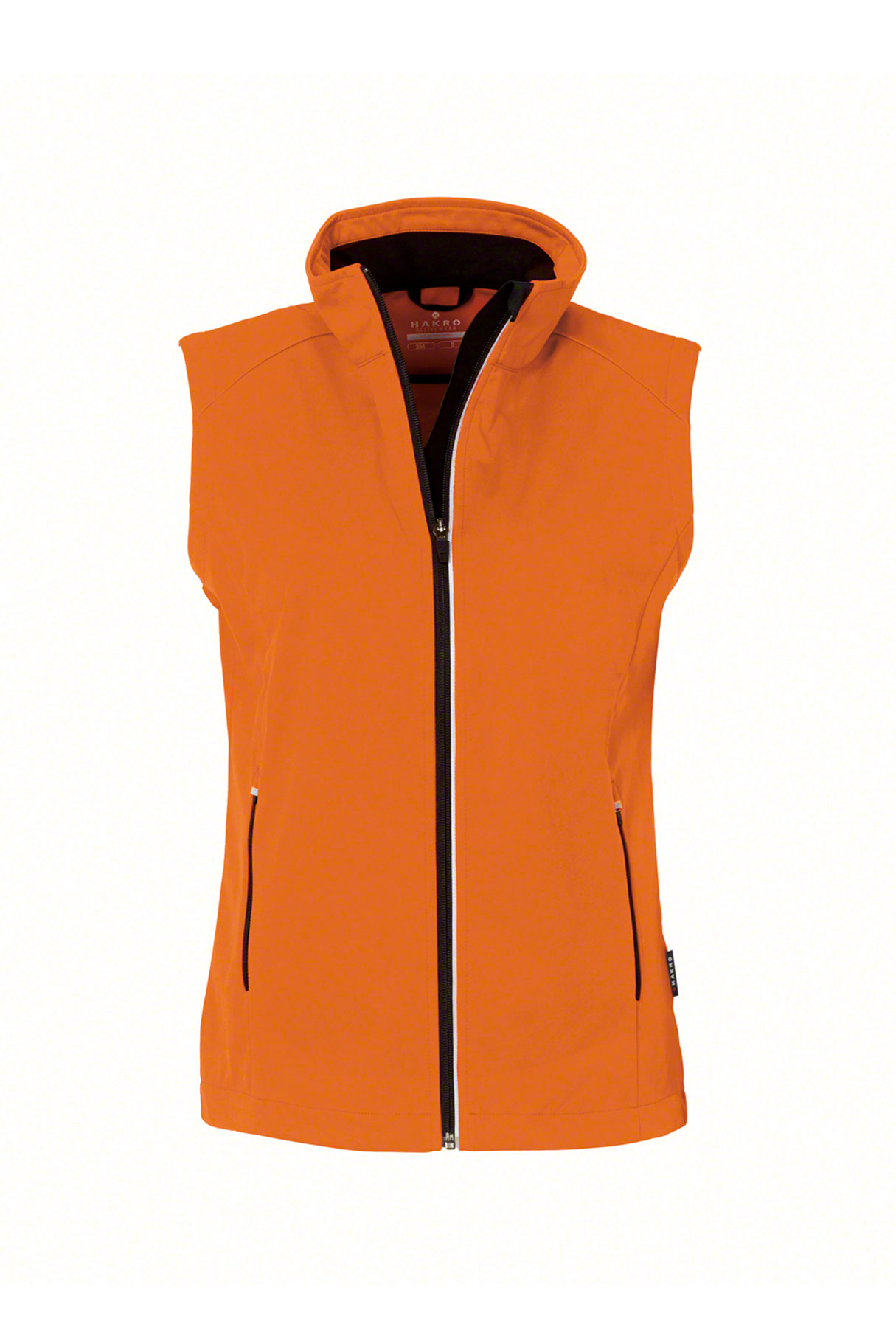 Dekokissen Orange Damen Softshell Weste Sarina - Como Fashion