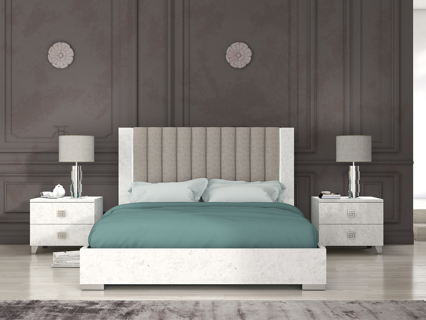 Alex Bed By San Martino Italian Bedroom Furniture