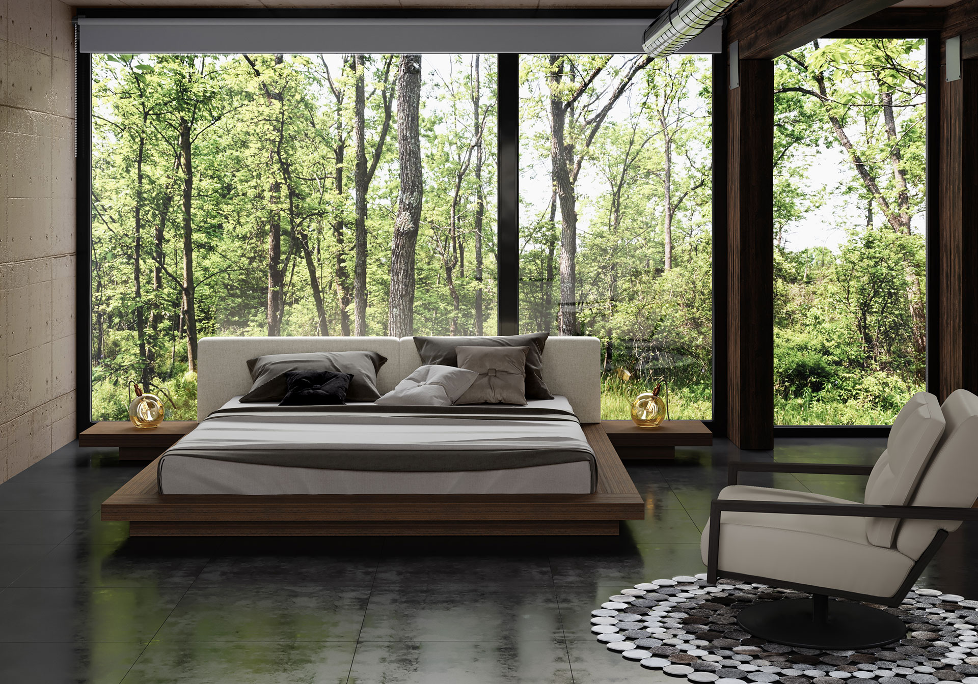 Japanese Inspired Beds Worth King Bed Ii
