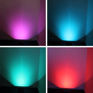 RGB Flood Light Colours