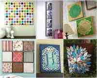 Wall art - 20 ways to Mod Podge canvas - Mod Podge Rocks