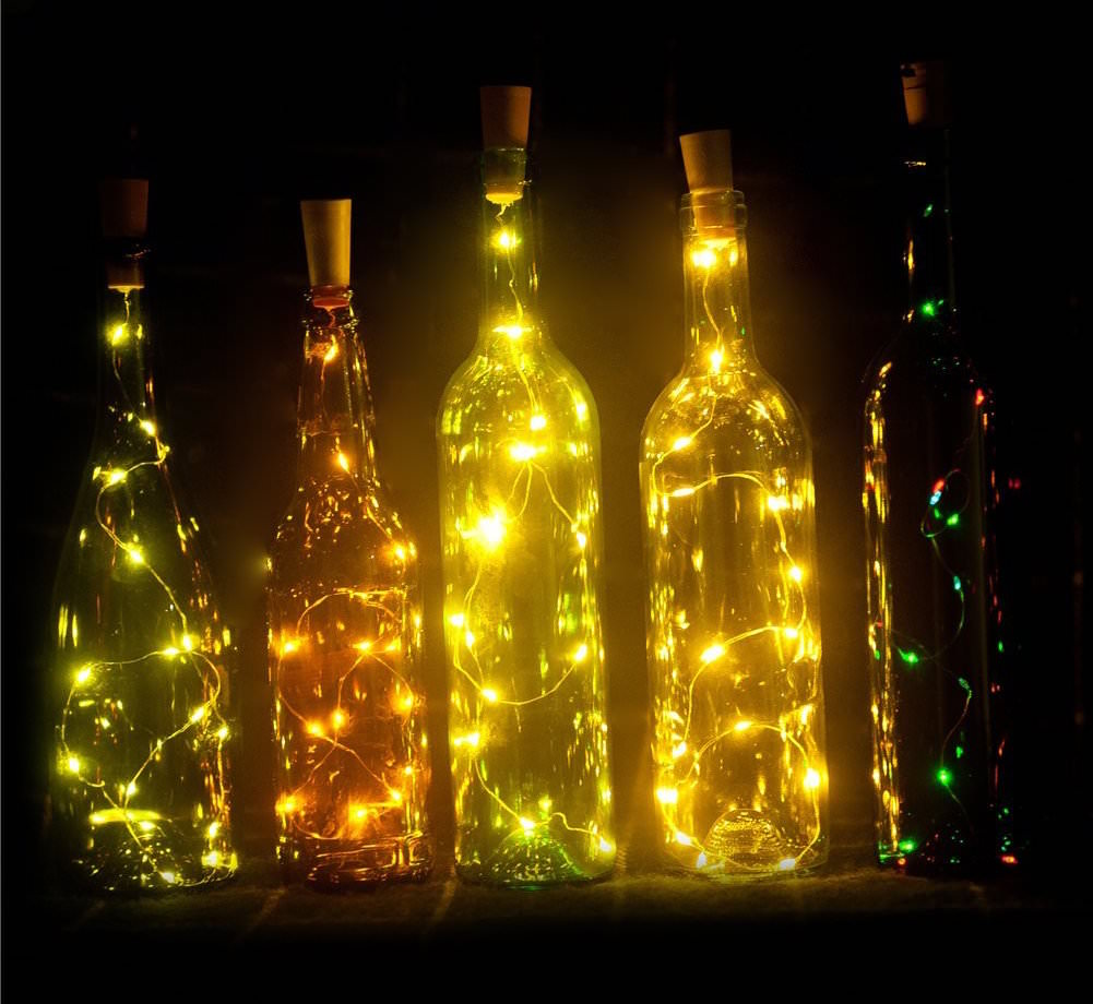 Led Lichtjes Where To Get The Best & Cheapest Wine Bottle Lights - Mod