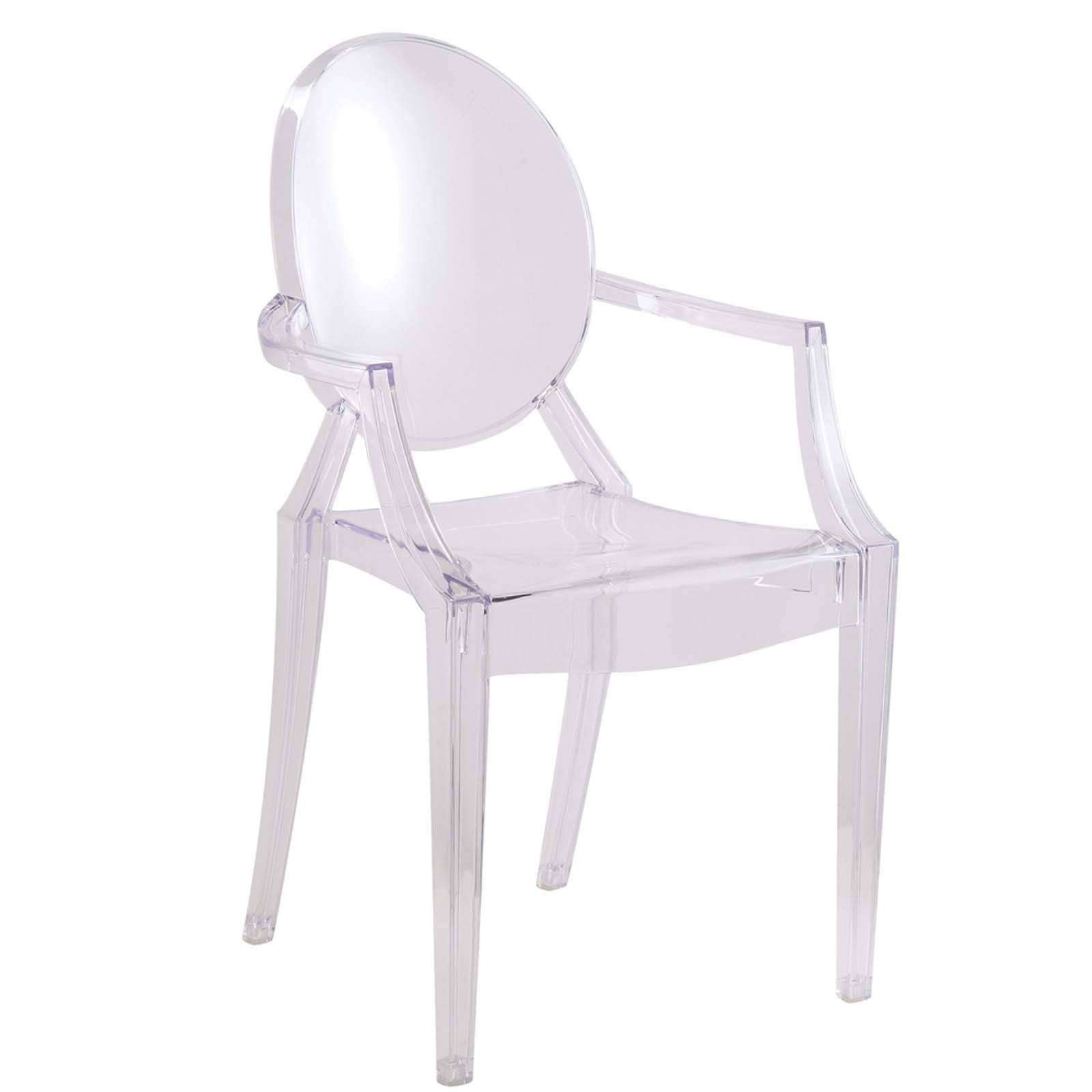 Acrylic Dining Chairs Acrylic Dining Arm Chair
