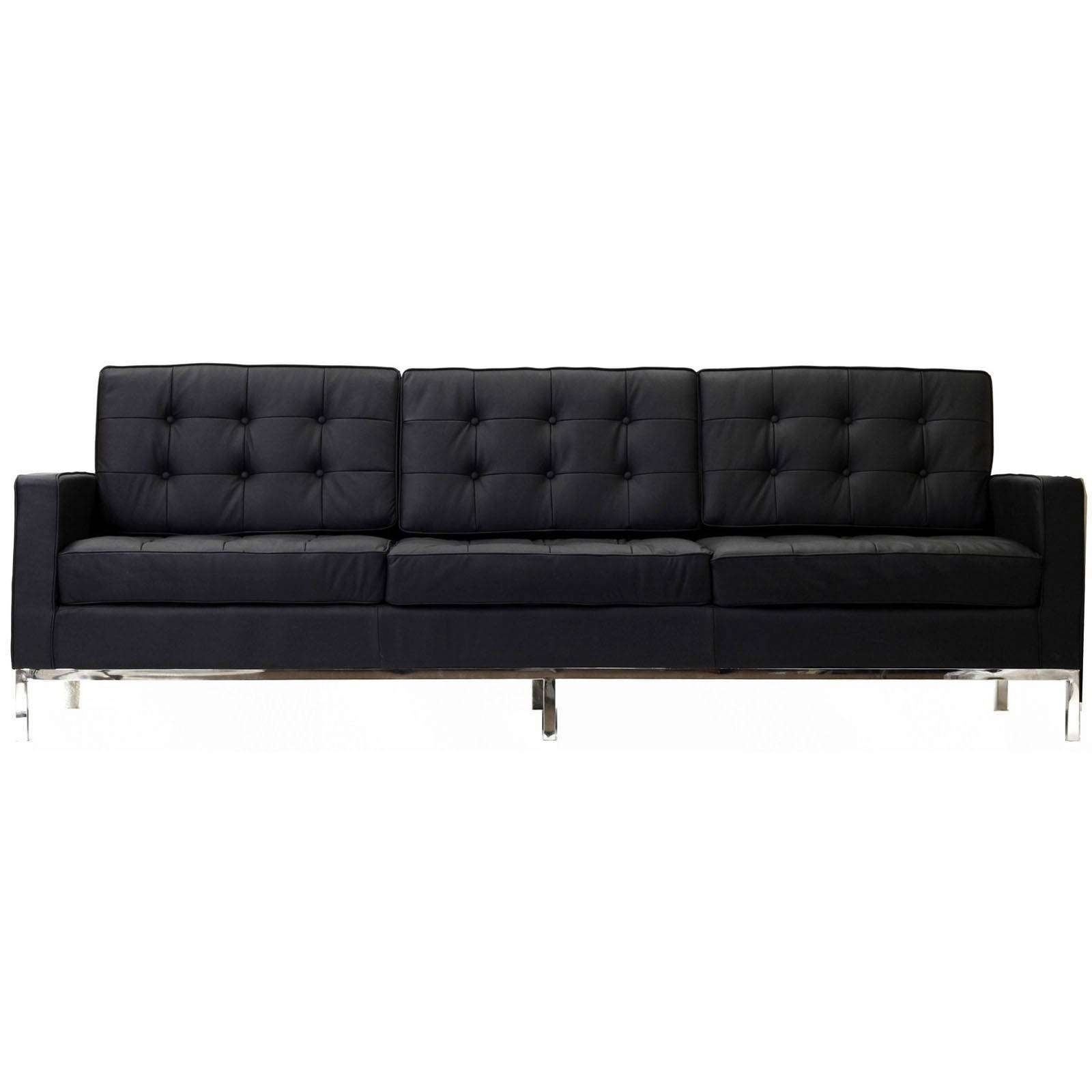 Knoll Couch Florence Knoll Style Sofa Couch Leather