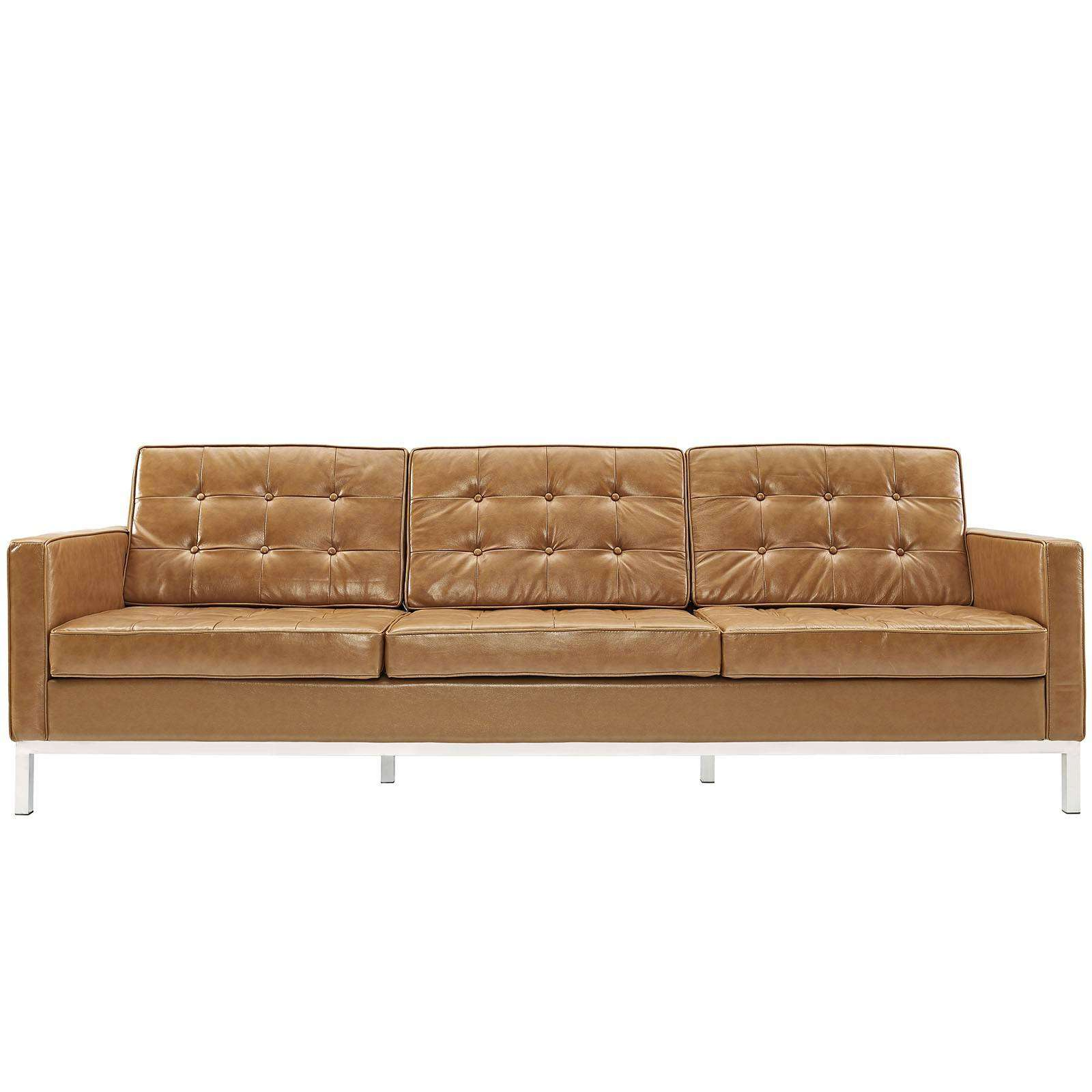 Sofa Florence Knoll Style Sofa Couch Leather