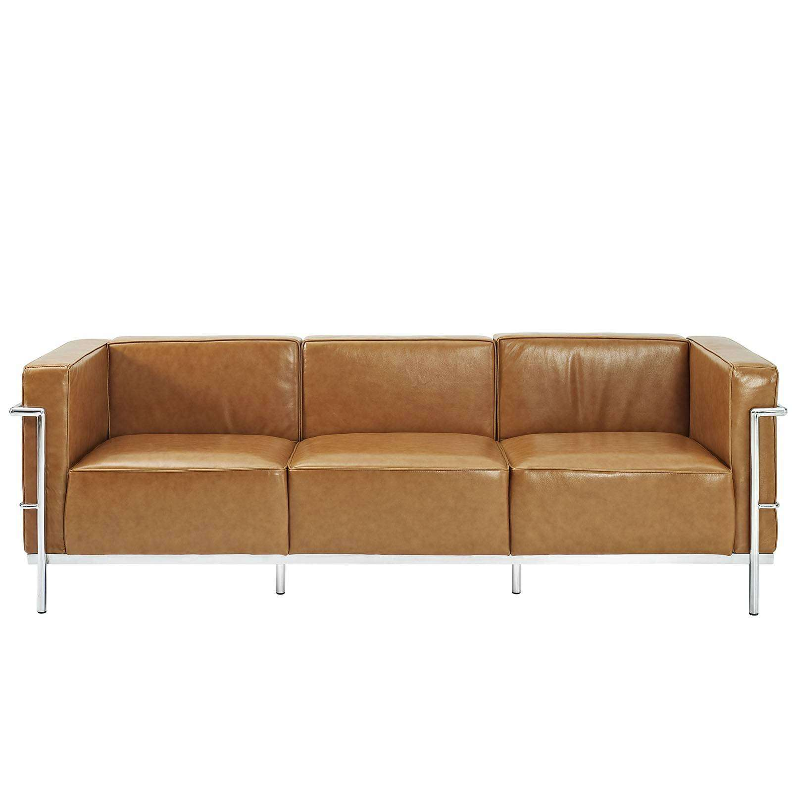 Sofa Le Corbusier Le Corbusier Style Lc3 Sofa Leather