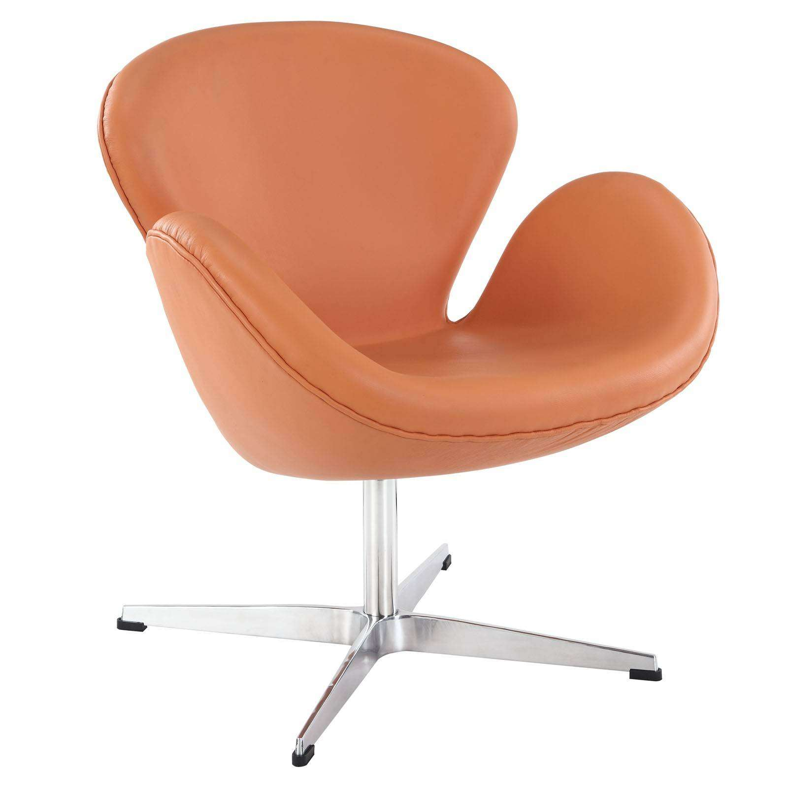Philippe Starck Chaise Arne Jacobsen Swan Chair - Leather