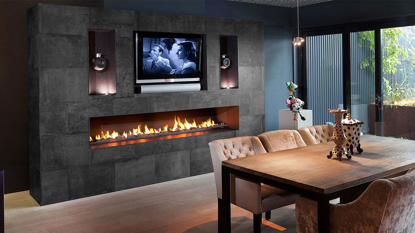 Contemporary Designer Luxury Modern Fireplaces Modus