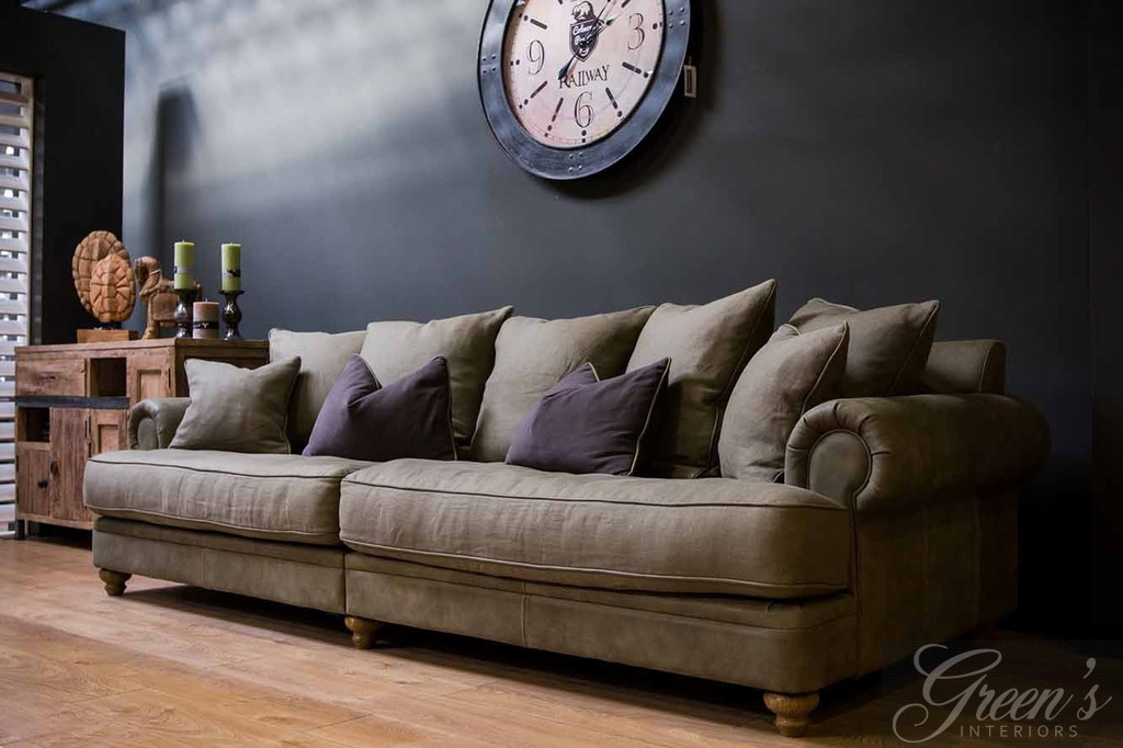 Couch Extra Tief Dam 2000 / Green's Interiors. Sofa / Sessel Chelsea Xxl, Keder