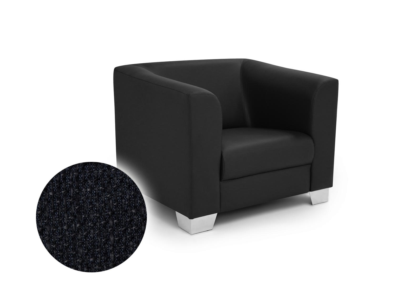 Lounge Sessel Berlin Chicago Sessel Berlin Schwarz Material Stoff