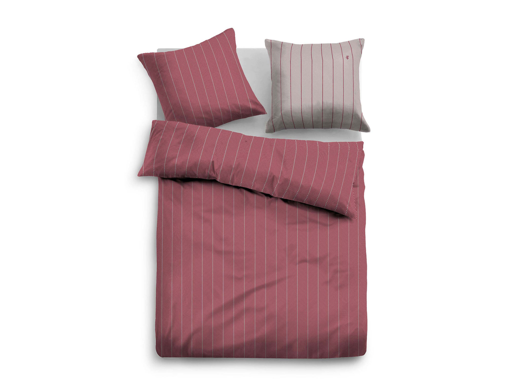 Tom Tailor Bettwäsche Tom Tailor Bettwäsche Satin Bed Linen 135x200 4380x80 Cm