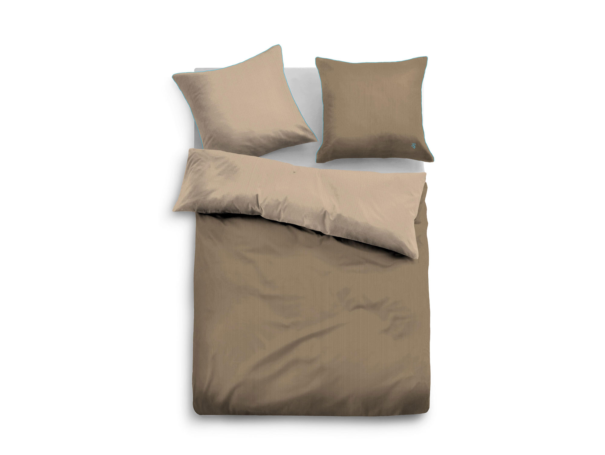 Tom Tailor Bettwäsche Tom Tailor Bettwäsche Satin Bed Linen 135x200 4380x80