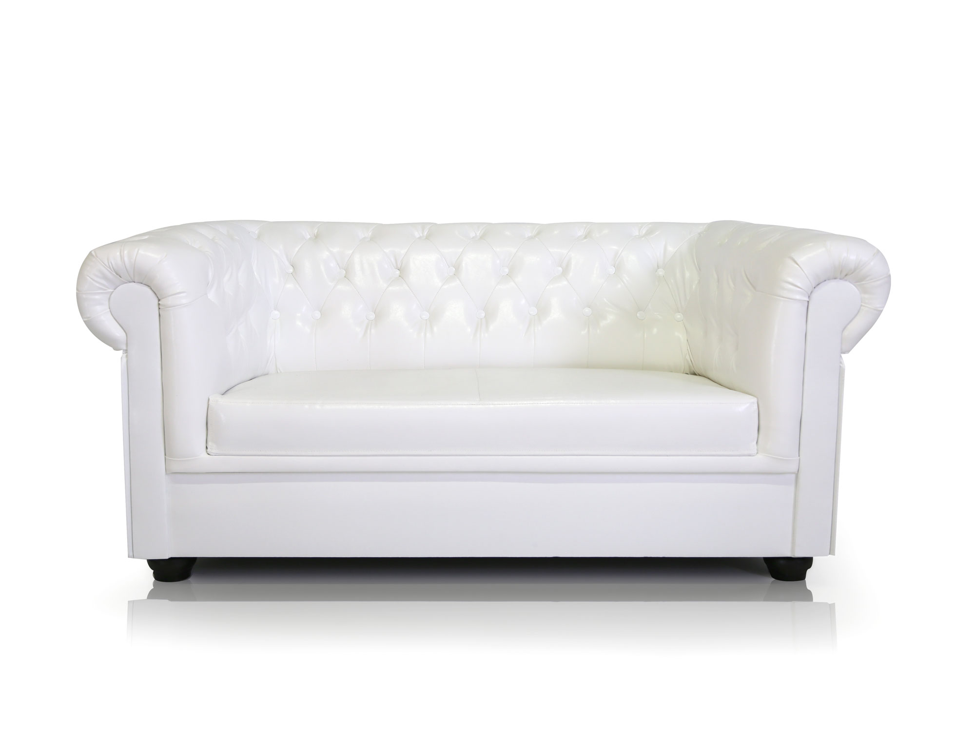Chesterfield Ecksofa Weiss Chesterfield Sofa Weiss Chesterfield 3er Sofa Kunstleder
