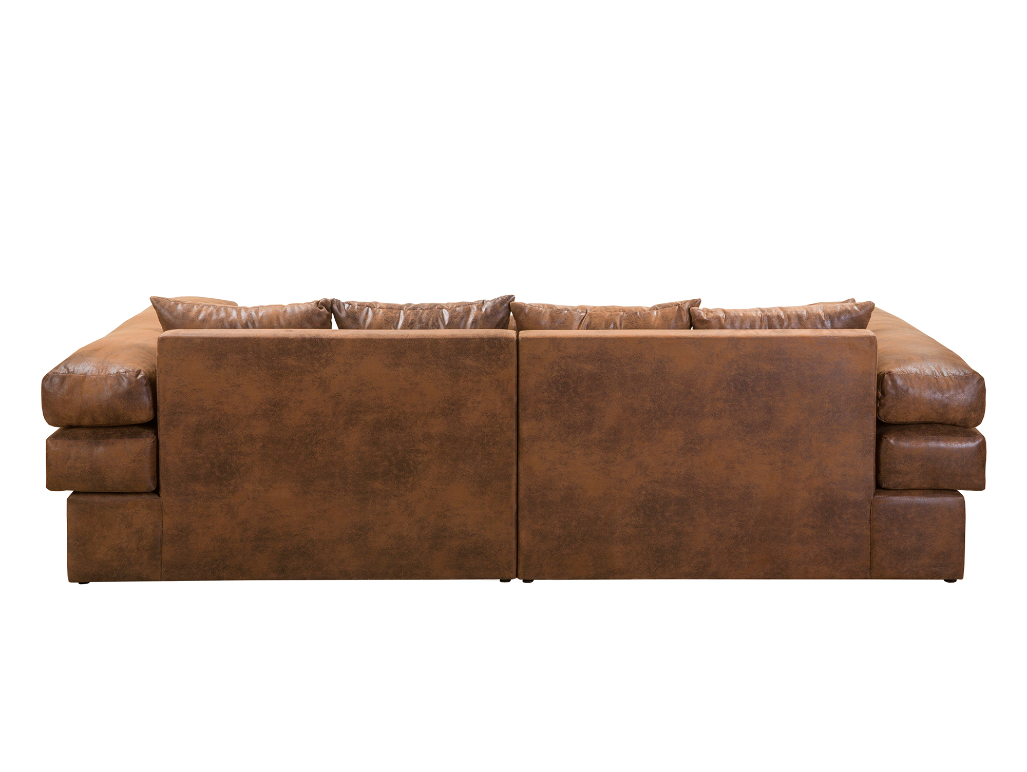 Niri Big Sofa Bezug Microvelours Gobi Braun