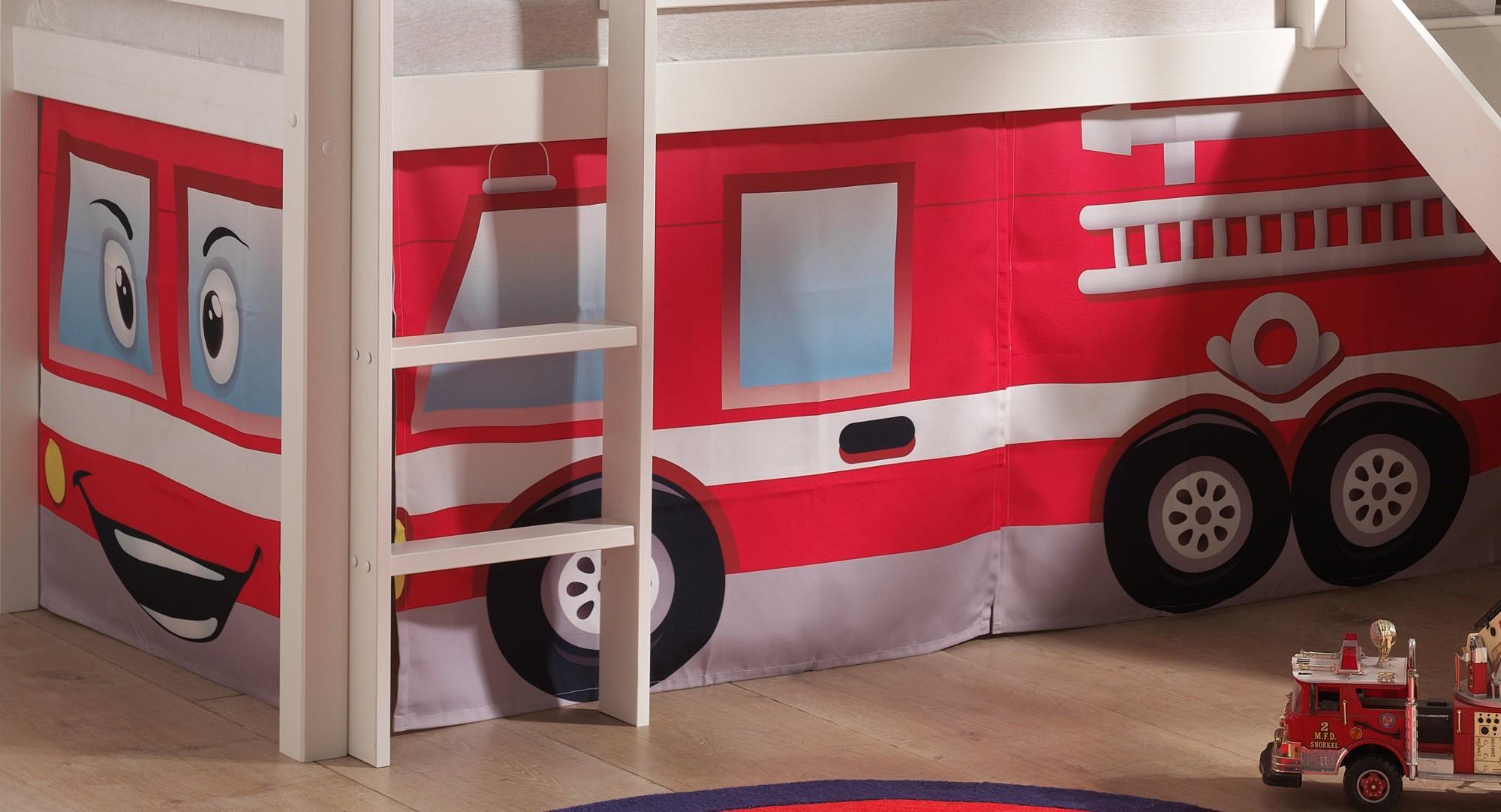 Etagenbett Feuerwehr : Hochbett feuerwehr flexa schöne