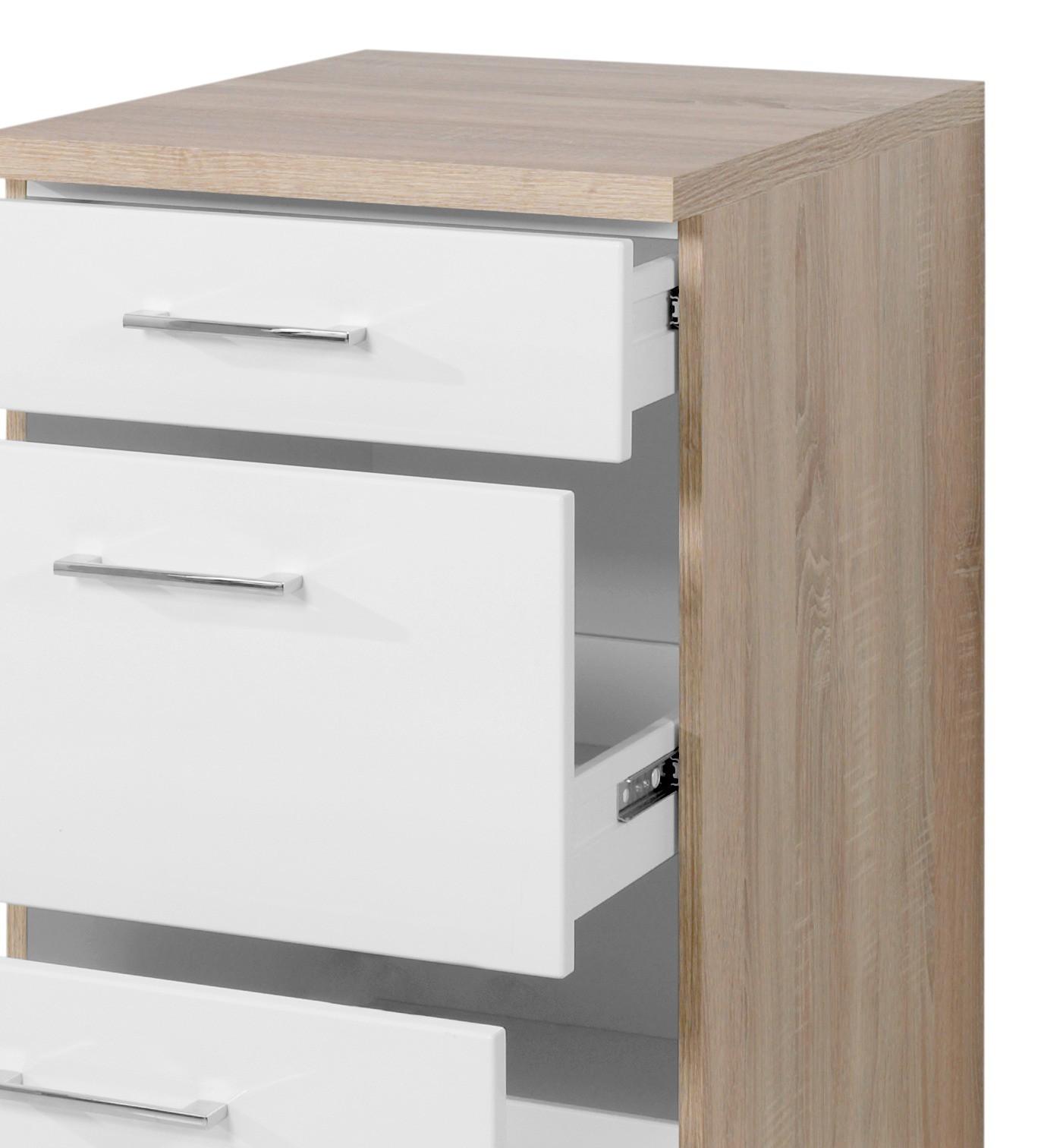 kchen hochschrank mit schubladen trendy hochschrank fr backofen mikrowelle cm schublade ebdam. Black Bedroom Furniture Sets. Home Design Ideas