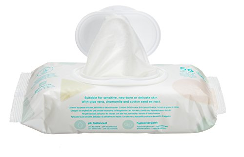 Amazon Marke - Mama Bear Sensitive Baby-Feuchttücher ...