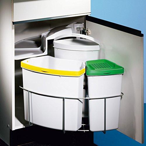 Mülleimer Küche Einbau Amazon | Hailo Abfallsammler Tz Swing ...