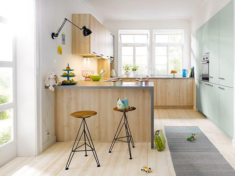 Küche U Form Offen