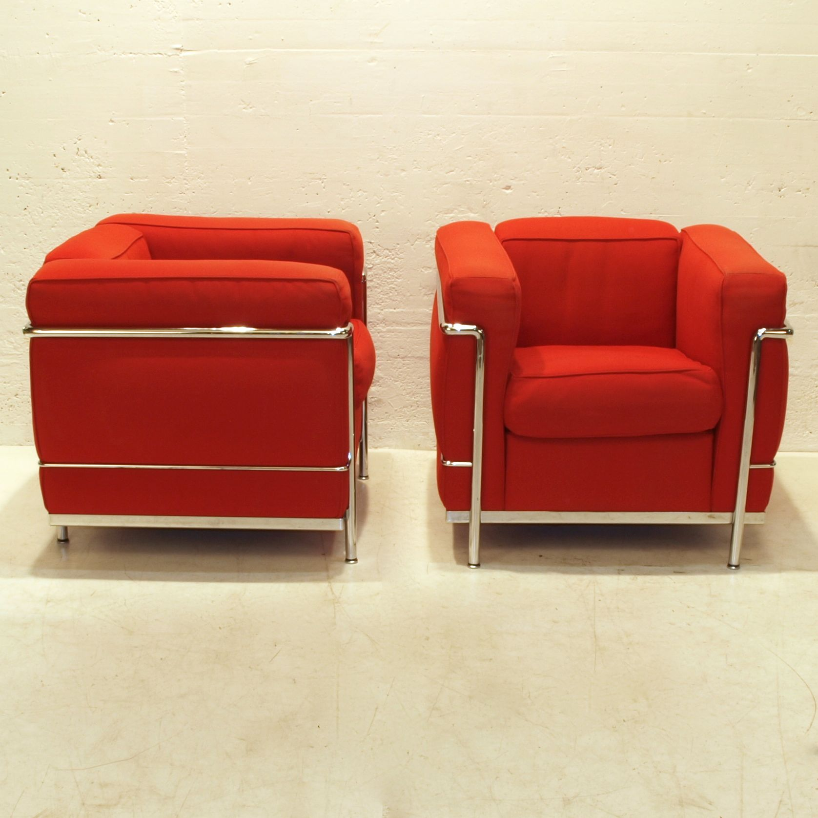 Lounge Sessel 2er Set Lc2 Corbusier Sessel 2er Set Möbel Zürich Vintagemöbel