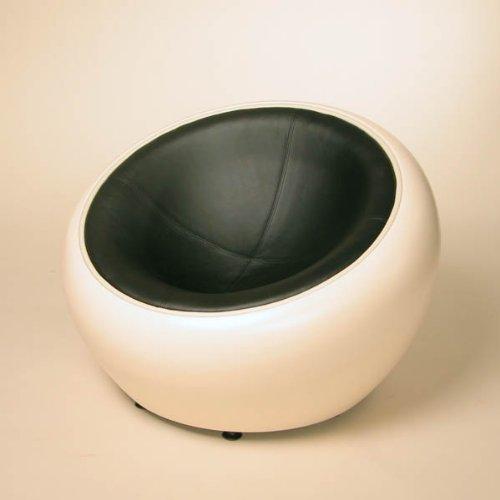 2 70er Lattenroste  Design Lounge Ball Schalen Sessel Retro M246;bel Stuhl C12