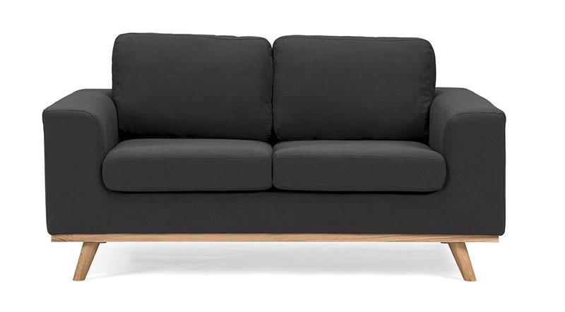 Vintage Sofa Retro Couch 2 Sitzer 60er Jahre Look Aus Stoff   Esszimmer 60er  Jahre