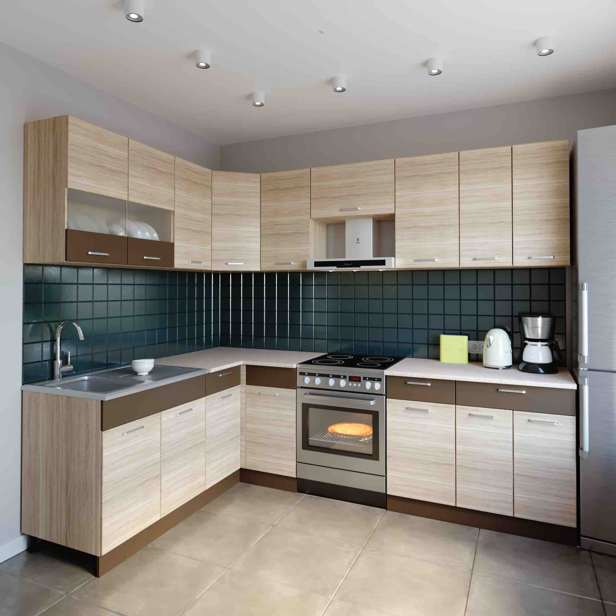 Küchenzeile L Form | Küchenzeile Küche Winkelküche L Form Küche ...