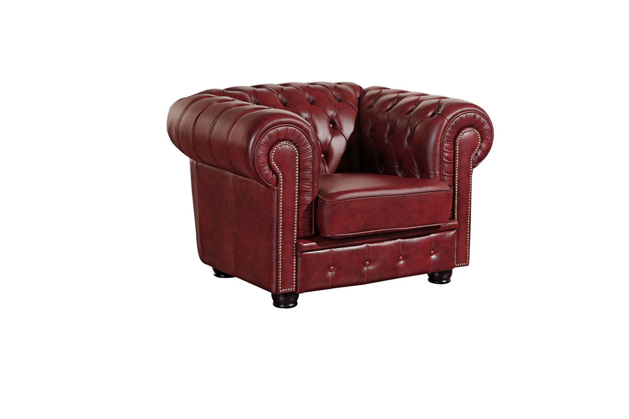 Chesterfield Sessel Rot Chesterfield Sessel Norwin In Wischleder Braun Oder Rot Von Max Winzer