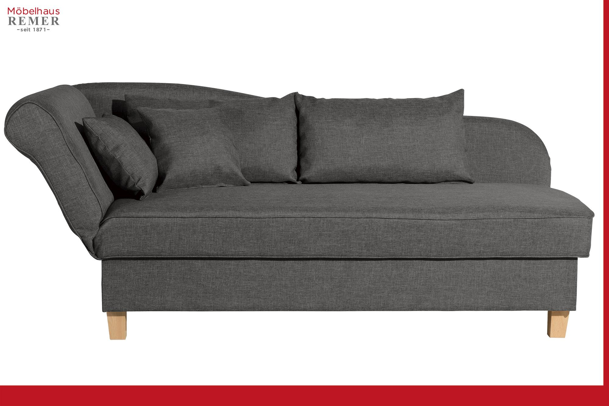 Schlafsofas Made In Germany Max Winzer Recamiere Selma Flachgewebe Uni